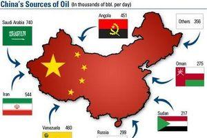Trung Quốc đau đầu vì bị Mỹ cấm mua dầu mỏ của Iran