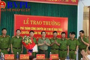 Quảng Bình: Thưởng nóng chuyên án rừng Phong Nha - Kẻ Bàng bị 'xẻ thịt'