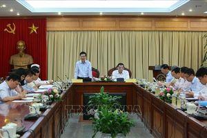 Đoàn Tiểu ban Văn kiện Đại hội XIII làm việc với Ban cán sự đảng Bộ Khoa học và Công nghệ