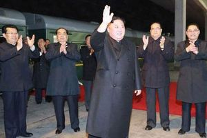 Ông Kim Jong-un lên tàu bọc thép tới Nga họp thượng đỉnh với ông Putin