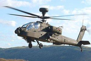 Trực thăng diệt tăng Apache cách biên giới Nga 100km