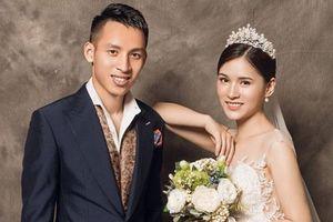Ngắn bộ ảnh cưới đầy lãng mạn của vợ chồng Hùng Dũng