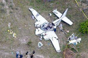 Toàn bộ hành khách thiệt mạng trong vụ rơi máy bay tại Texas