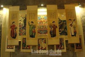 Khai mạc trưng bày, giới thiệu nghề truyền thống với chủ đề 'Dó Việt Xưa – Nay'