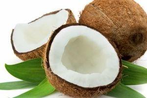 Dừa – giải nhiệt, trị say nắng nóng