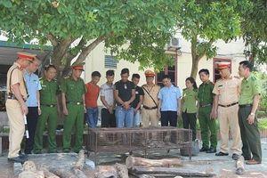 Hà Tĩnh: Bắt giữ xe chở động vật hoang dã và gỗ lậu qua biên giới