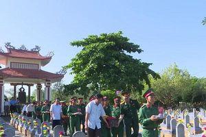 Quảng Trị: Tổ chức truy điệu và an táng 24 hài cốt liệt sĩ