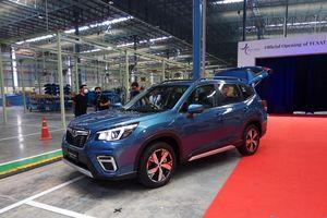 Nhà máy Subaru Thái Lan xuất xe Forester 2019 giá giảm 378 triệu về Việt Nam