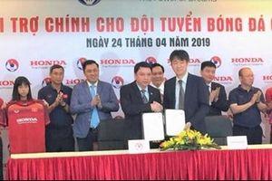 Honda là nhà tài trợ chính cho các Đội tuyển bóng đá Việt Nam