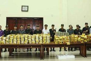Trao thưởng các đơn vị phá vụ ma túy khủng ở Hà Tĩnh
