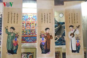 Gìn giữ nét đẹp nghề truyền thống qua triển lãm 'Dó Việt Xưa - Nay'