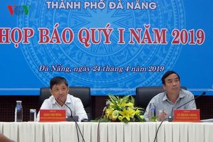 Nóng các dự án lấp sông Hàn tại họp báo quý 1 của TP Đà Nẵng