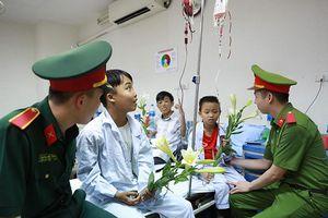 Niềm vui bất ngờ của các bệnh nhân tan máu bẩm sinh
