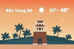 Thời tiết ngày 25/4: Trung Bộ nắng nóng gay gắt, trên 40 độ C