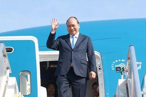 Thủ tướng Nguyễn Xuân Phúc lên đường dự diễn đàn Vành đai - Con đường