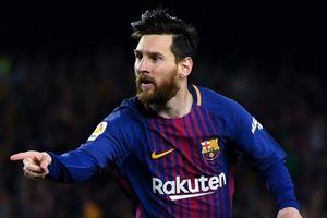 Lionel Messi là vận động viên vĩ đại nhất lịch sử