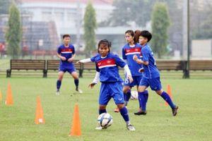 Tuyển U19 nữ Việt Nam tự tin hướng tới vòng loại 2 U19 nữ châu Á