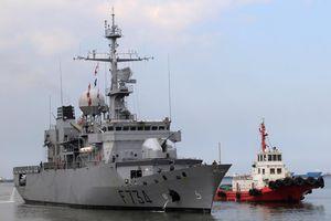 Pháp - Trung tranh cãi vụ tàu chiến đi qua eo biển Đài Loan