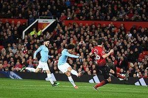Hạ gục Quỷ đỏ tại derby Manchester, Man City tiến bước dài đến chức vô địch
