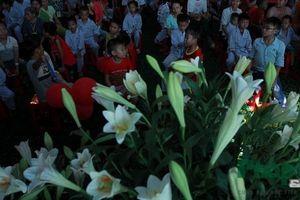 10 nghìn bông hoa loa kèn dành tặng các bệnh nhân tại Viện Huyết học