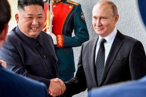 Vừa gặp nhau, lãnh đạo Nga – Triều có phát biểu đầu tiên