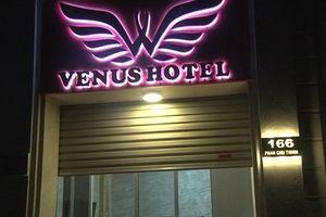 Đột kích khách sạn Venus ở TP Huế, phát hiện 21 thanh niên dương tính với ma túy