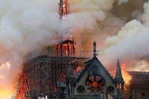 Lộ nguyên nhân vụ hỏa hoạn kinh hoàng ở Nhà thờ Đức Bà