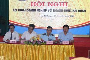 Hà Tĩnh: Đối thoại về chính sách thuế, hải quan với gần 250 doanh nghiệp