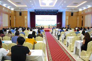 250 học viên tham gia tập huấn công tác giáo dục lý luận chính trị