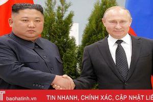 Không khí hội nghị thượng đỉnh đầu tiên giữa Tổng thống Putin và Chủ tịch Kim Jong-un