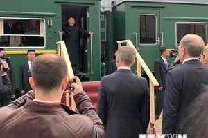 KCNA: Nhà lãnh đạo Triều Tiên được Nga đón tiếp nồng ấm và hữu nghị