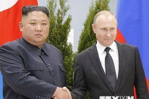 Video ông Putin và ông Kim Jong-un bắt đầu họp thượng đỉnh Nga-Triều