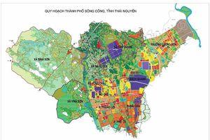 Thái Nguyên sắp có khu đô thị 63ha ngay tại TP Sông Công