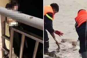 Thiếu phụ bỏ lại hai con mồ côi, nhảy cầu Hồ tự tử