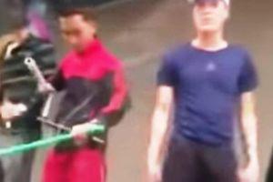 Bắt giữ 8 thanh niên chặn xe ôtô đập vỡ kính, truy sát náo loạn ở Thanh Hóa