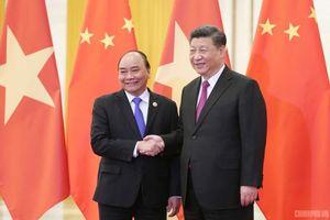 Thủ tướng đề nghị Trung Quốc kiên trì giải quyết vấn đề trên biển bằng biện pháp hòa bình