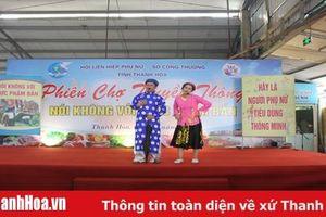 Truyền thông nói không với thực phẩm bẩn tại chợ Đông Thành