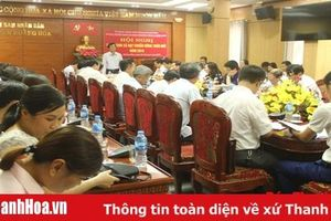Thẩm định đạt chuẩn Nông thôn mới cho 4 xã của huyện Hoằng Hóa