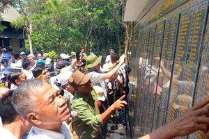 Khánh thành Bia lưu niệm Văn phòng Khu ủy Khu V