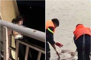 Tìm thấy xác thiếu phụ nhảy cầu Hồ tự tử