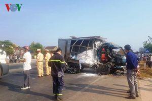 Tai nạn giao thông nghiêm trọng ở Quảng Trị khiến 3 người thương vong