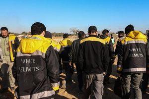 Nga tố 'Mũ bảo hiểm trắng' âm mưu dàn dựng tấn công hóa học ở Syria