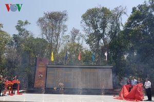 Khánh thành bia lưu niệm Văn phòng Khu ủy V tại Quảng Nam