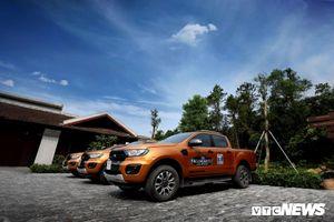Doanh số bán xe của Ford tăng mạnh