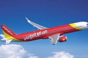 Tàu bay Vietjet Air bị bong tấm ốp cánh trái sau khi hạ cánh ở sân bay Cát Bi