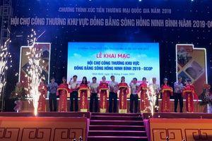 Khai Hội chợ Công Thương Đồng bằng sông Hồng - Ninh Bình 2019