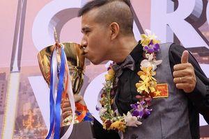 Trần Quyết Chiến vô địch châu Á, hạng 3 thế giới billiards carom 3 băng