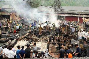 Hỏa hoạn thiêu rụi 6 căn nhà ở Lai Châu