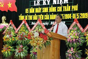 Long trọng kỷ niệm 115 năm ngày sinh cố Tổng Bí thư Trần Phú