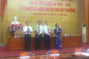 Ông Tô Hùng Khoa thôi làm Phó Chủ tịch HĐND tỉnh Lạng Sơn